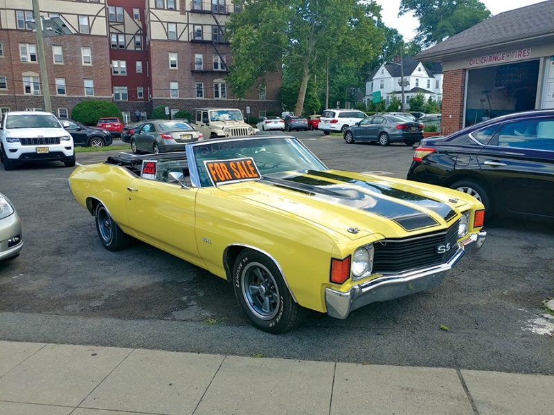 1972 Chevy Chevelle SS Westfield NJ 07090