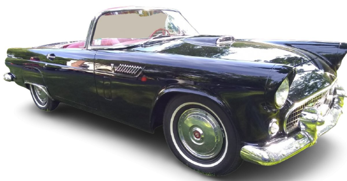 1956 Ford Thunderbird Convertible for sale in Worcester, MA