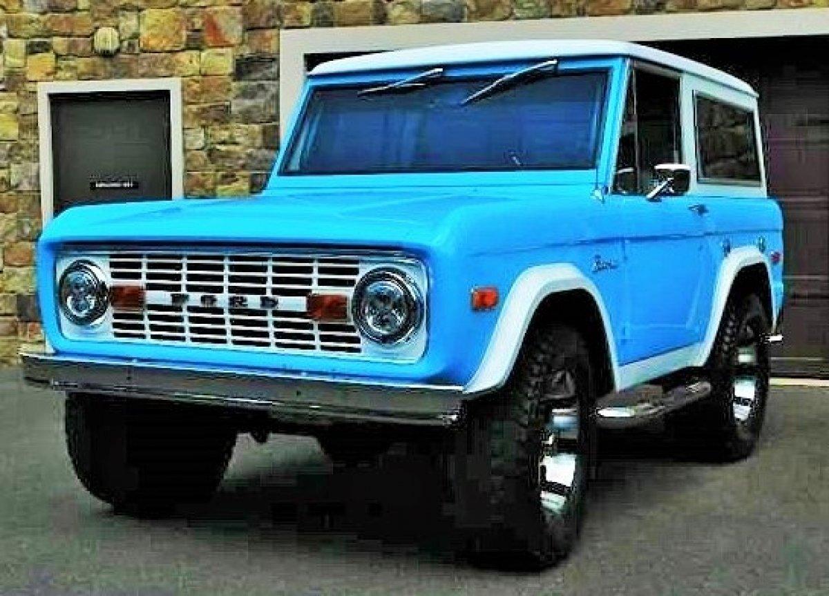 1974 Ford Bronco Restomod