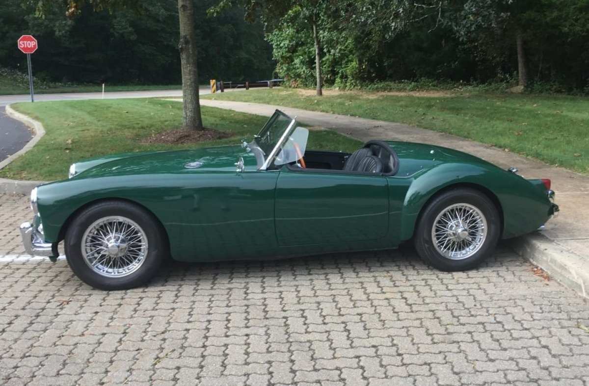 1958 MG MGA Roadster Convertible