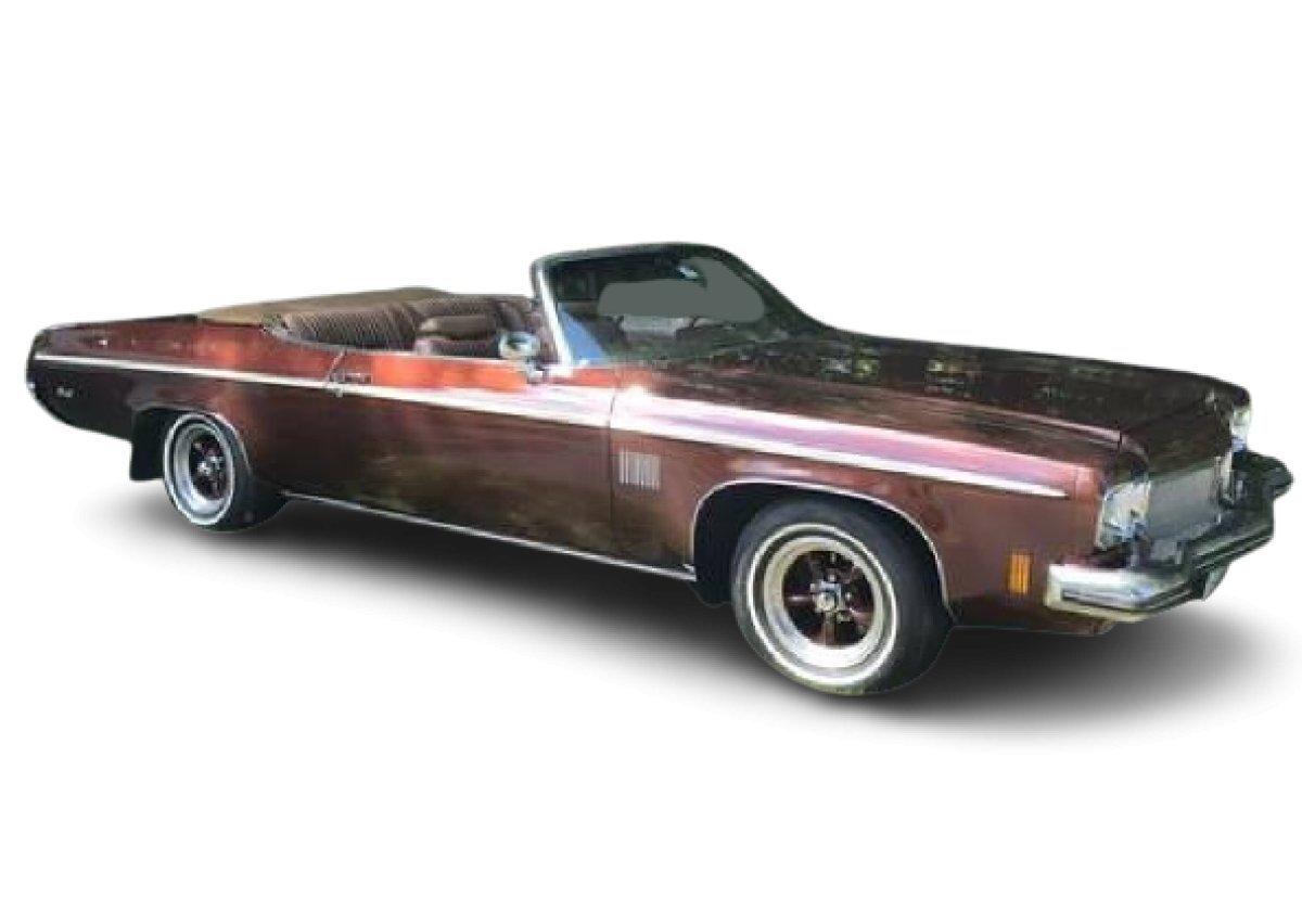 1973 Oldsmobile Delta 88 Royale Convertible for sale in Lake Hiawatha, NJ
