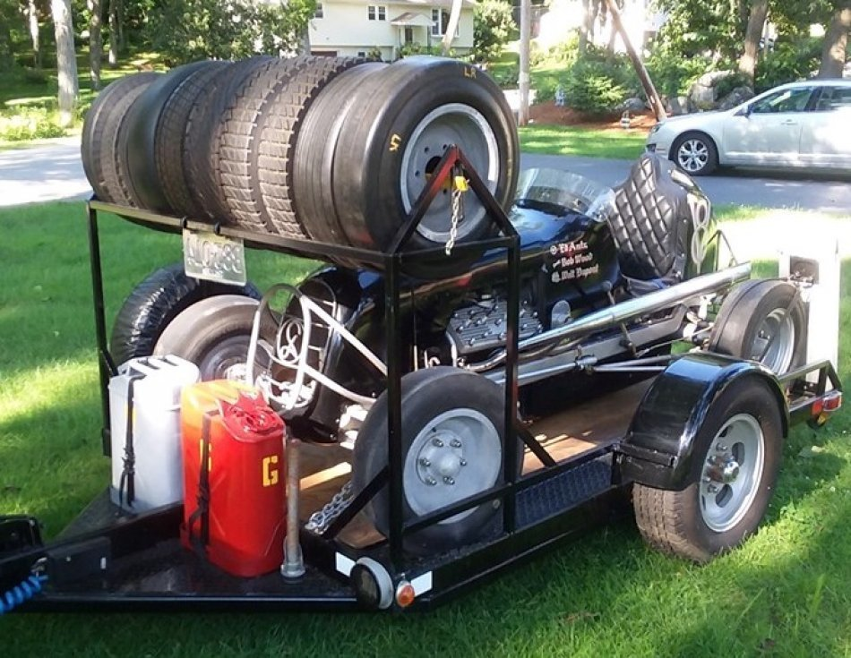 1948 Ford Midget Race Car & Trailer for sale in Worcester, MA