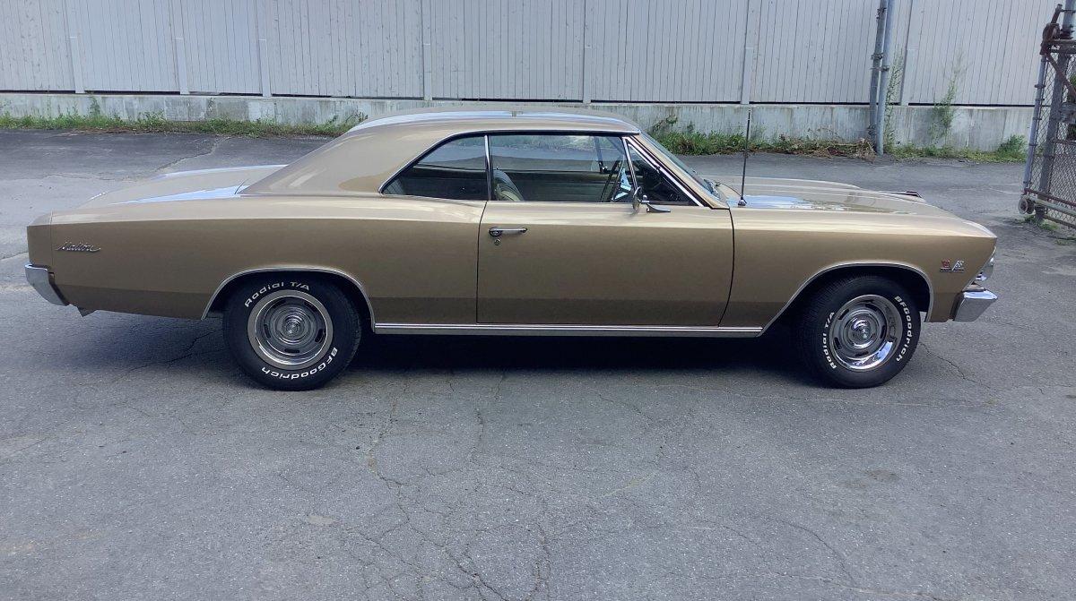 1966 Chevrolet Malibu 396 Sport Coupe