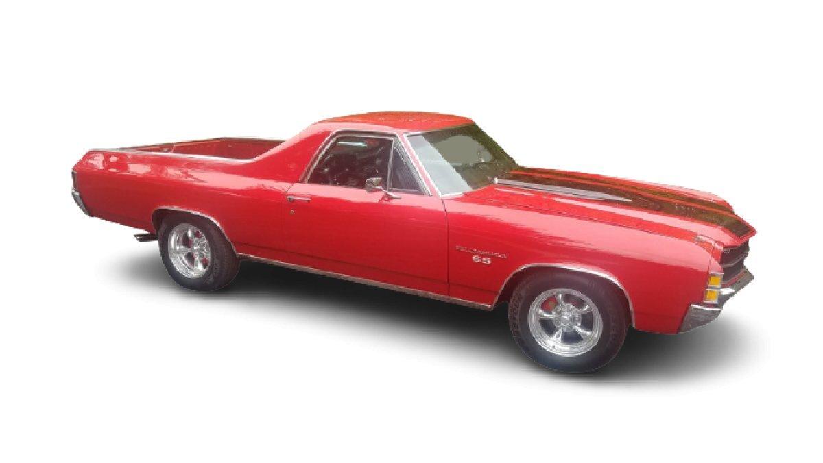 1971 Chevrolet El Camino SS Custom
