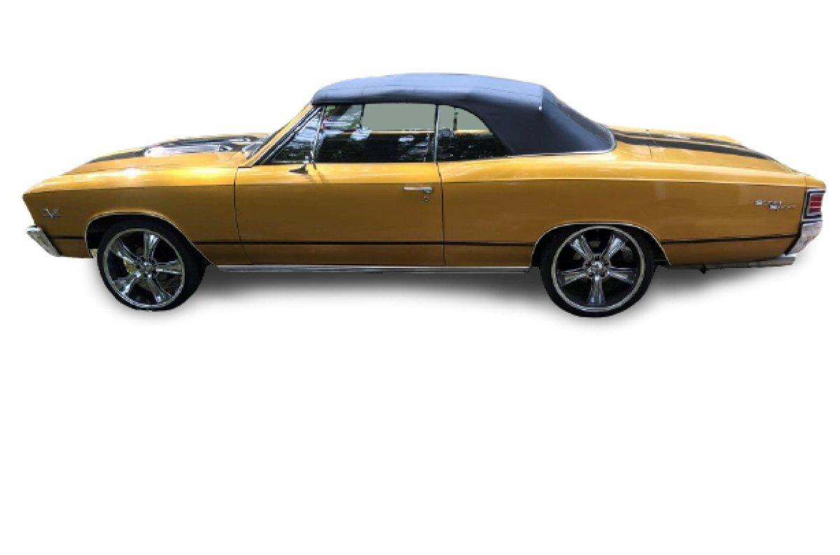 1967 Chevrolet Chevelle SS 396 Convertible Restomod