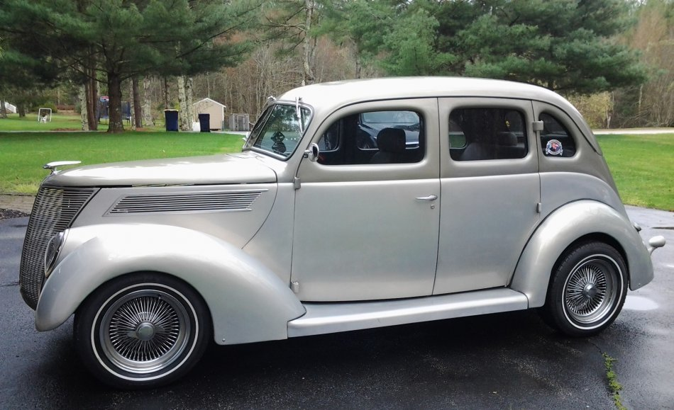 1937 Ford 4 Door Sedan for sale in Hanover, MA