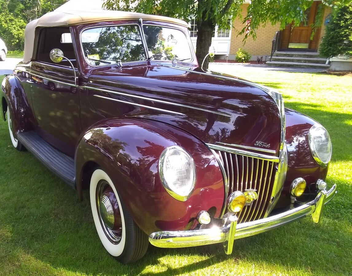 1939 Ford Deluxe Roadster for sale in Worcester, MA