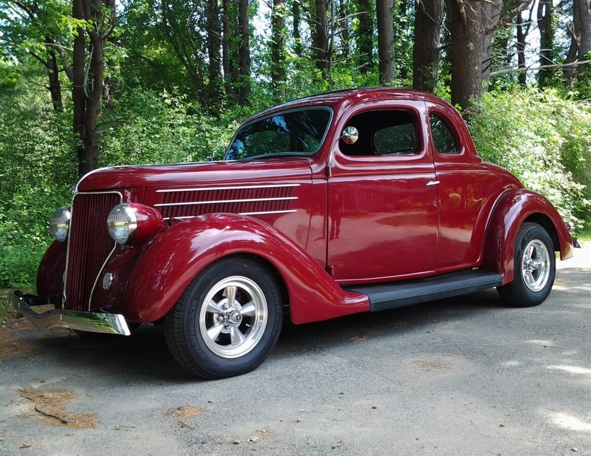1936 Ford 5 Window Coupe Custom