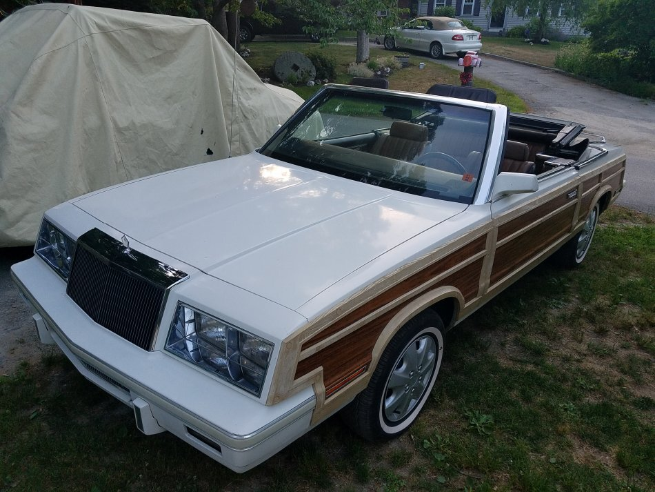 1984 Chrysler Lebaron Town and Country Convertible
