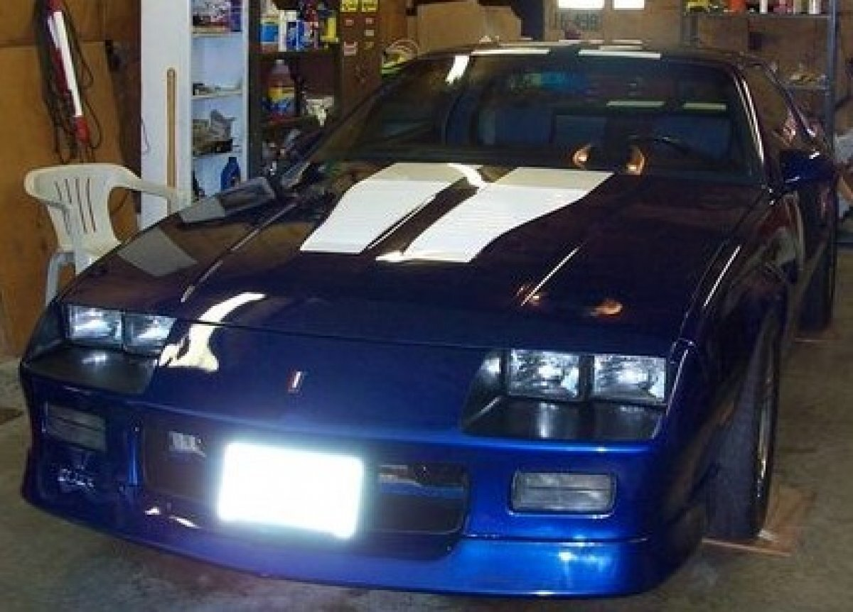 1987 Chevrolet Camaro IROC Z28 SS