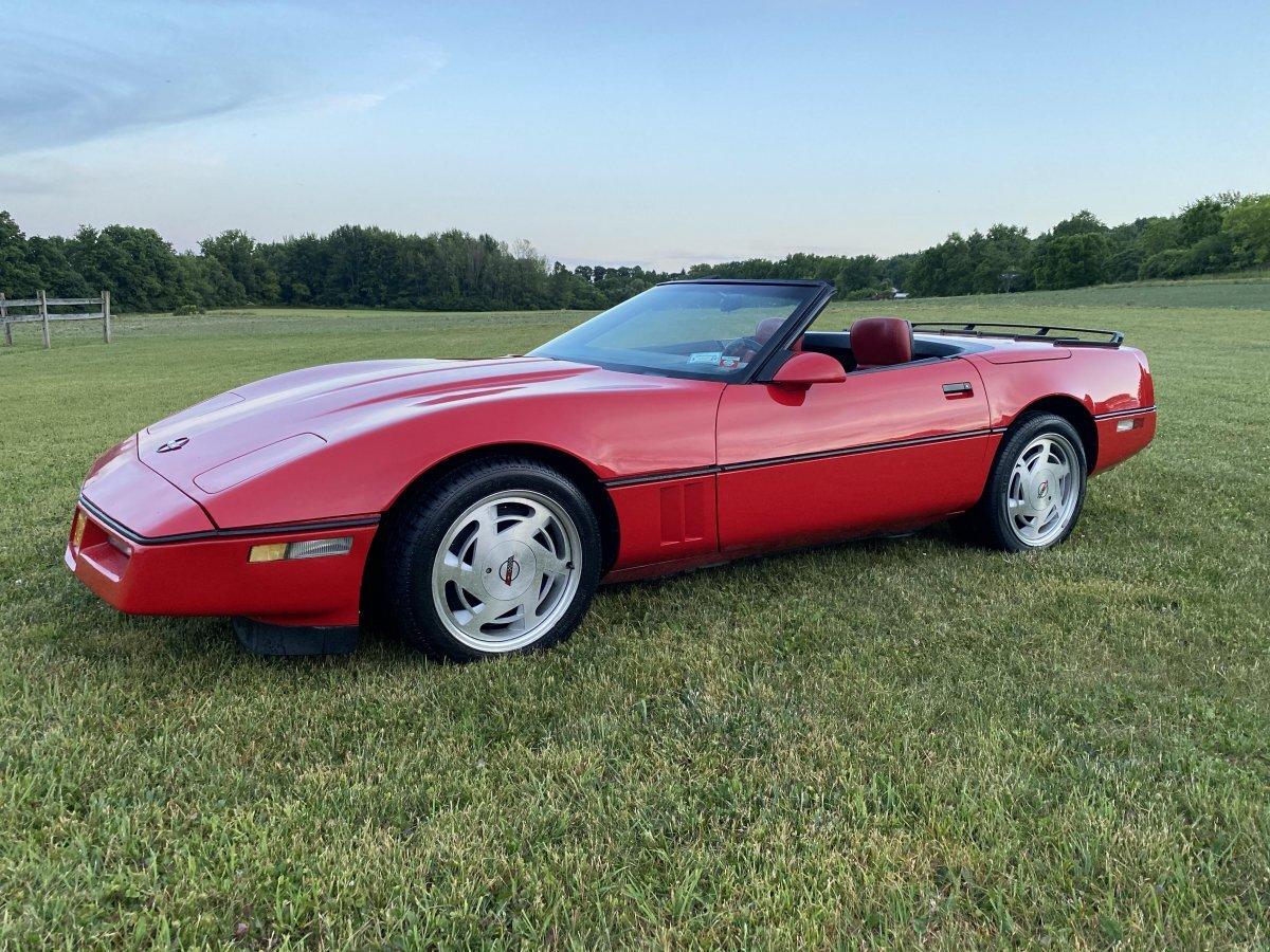 1989 Chevrolet Corvette Convertible C4