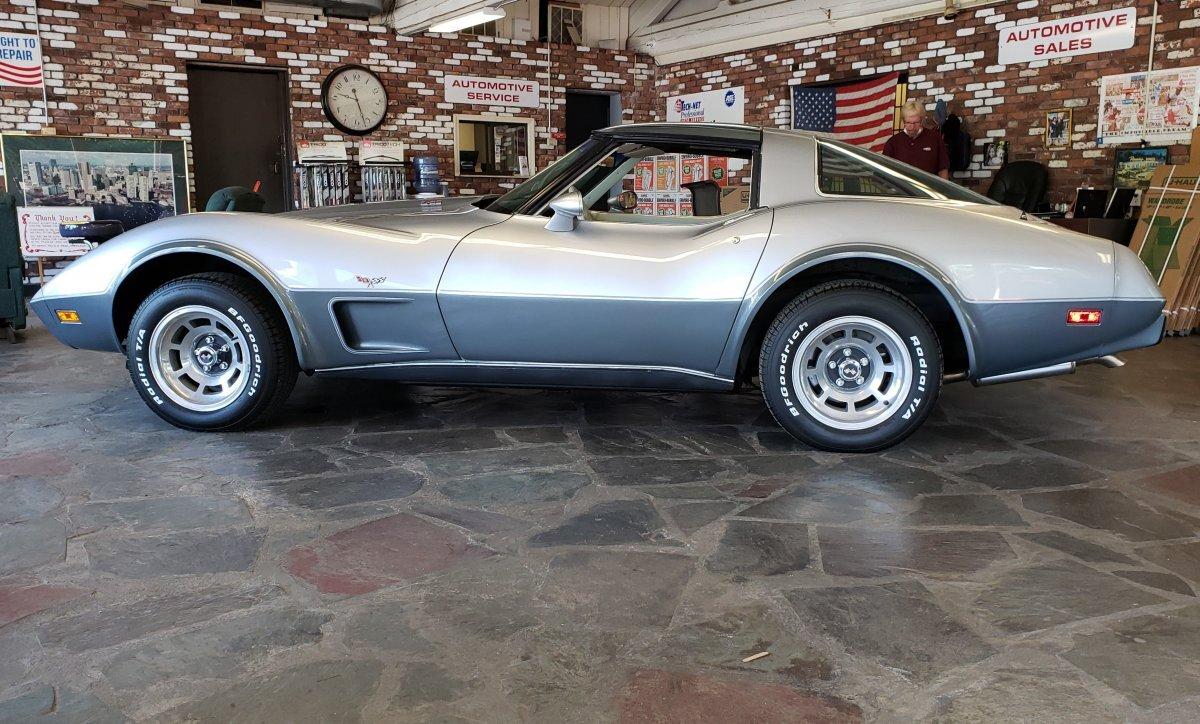 1978 Chevrolet Corvette 25th Anniversary Edition