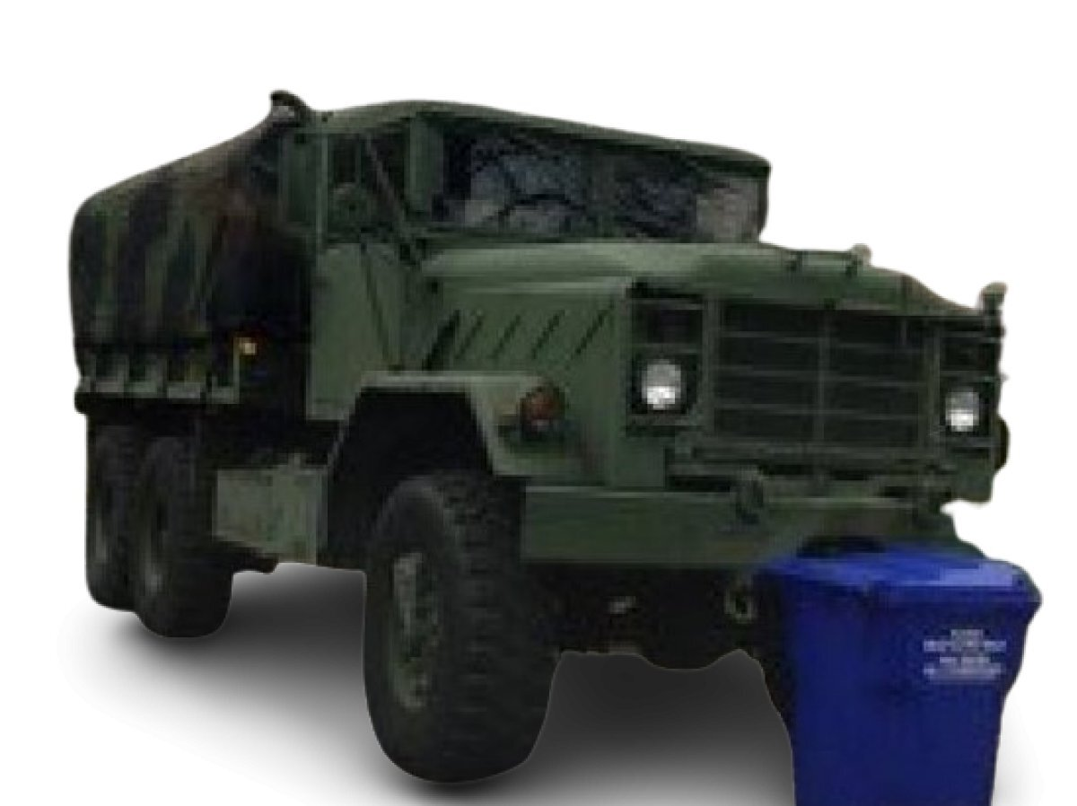 1990 Military Carrier 6 x 6 - Photo