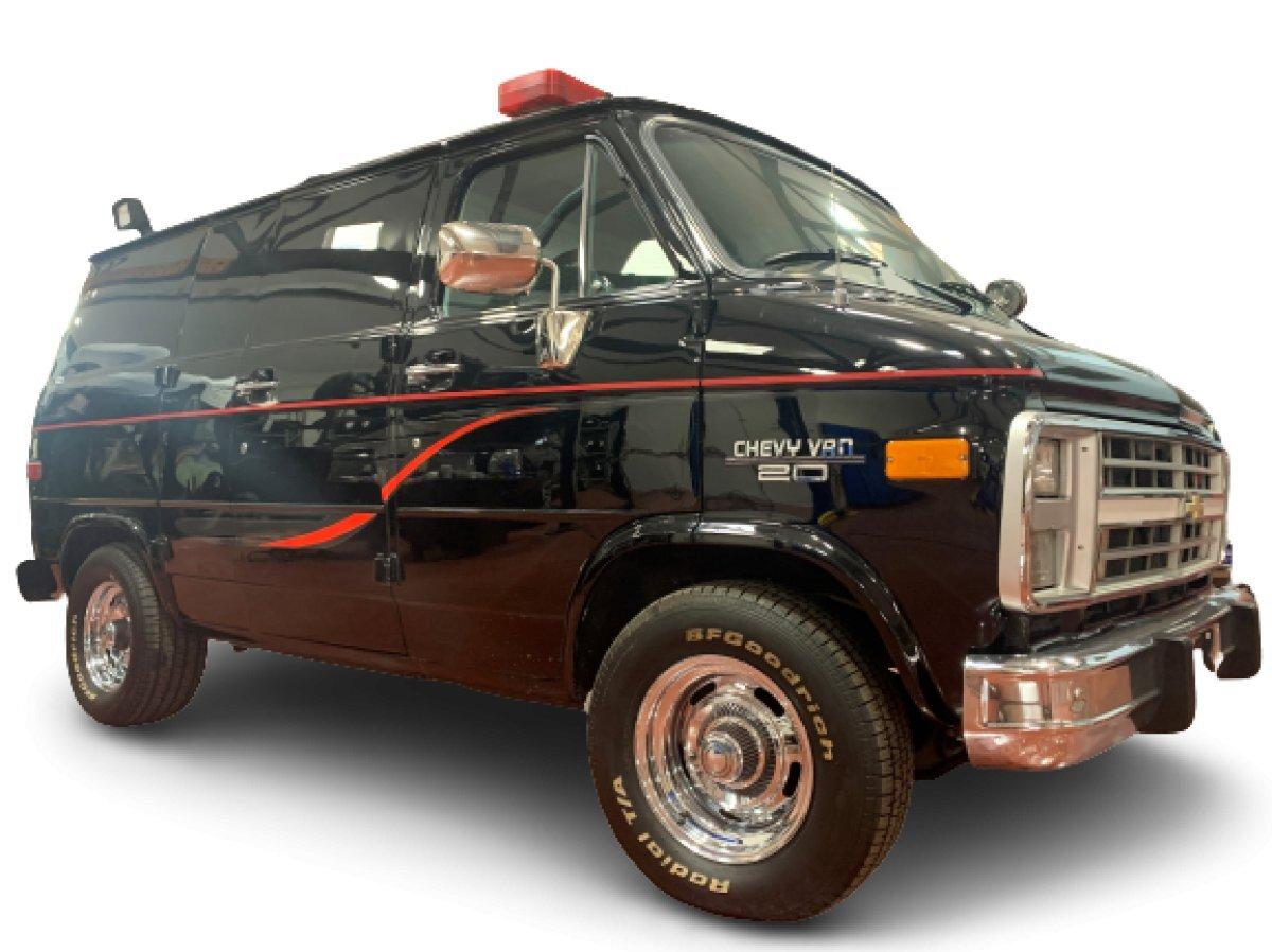1991 Chevrolet Police Van