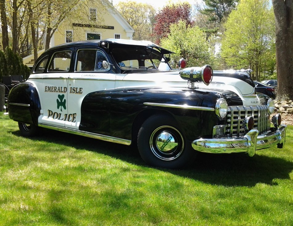 1946 Dodge Custom 4 Door Sedan Police Car for sale in Hanover, MA