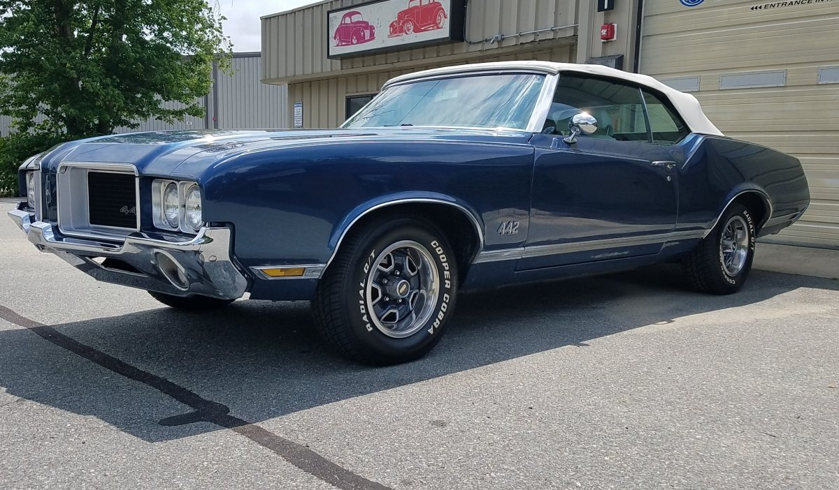 1971 Oldsmobile 442 Tribute Convertible for sale in Hanover, MA