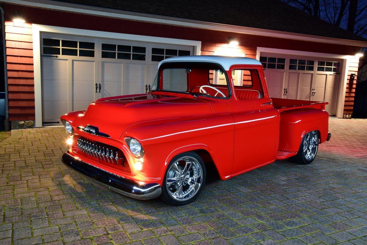 1957 Chevrolet Pickup Custom for sale in Hanover, MA