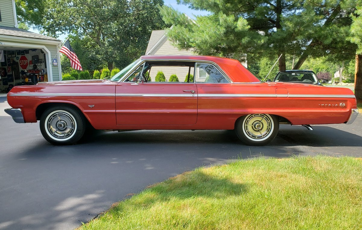 1964 Chevrolet Impala SS Coupe for sale in Hanover, MA