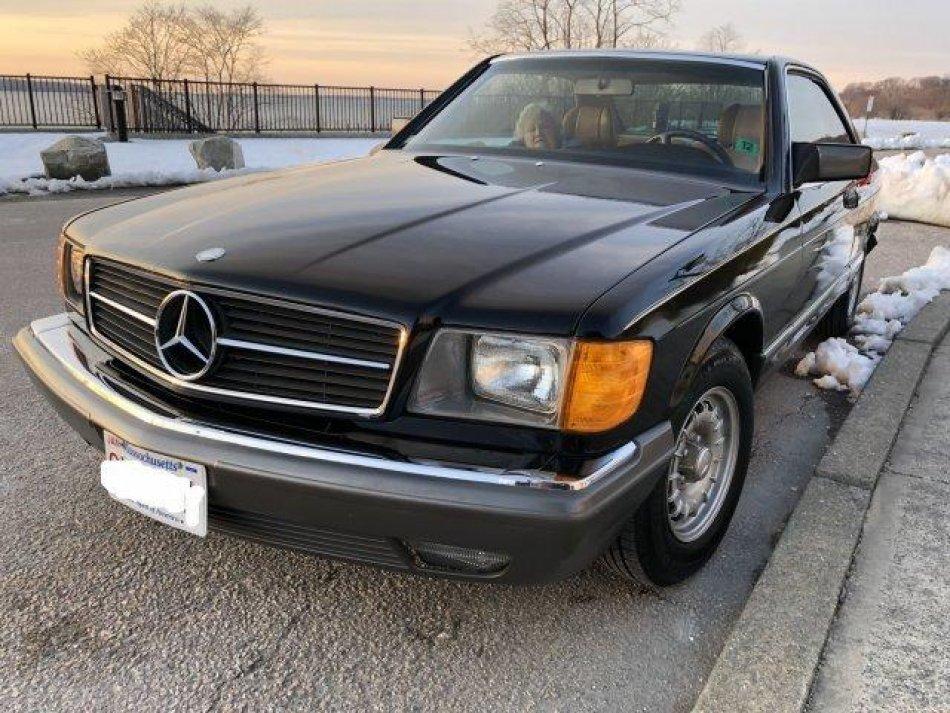1982 Mercedes-Benz 380 SEC