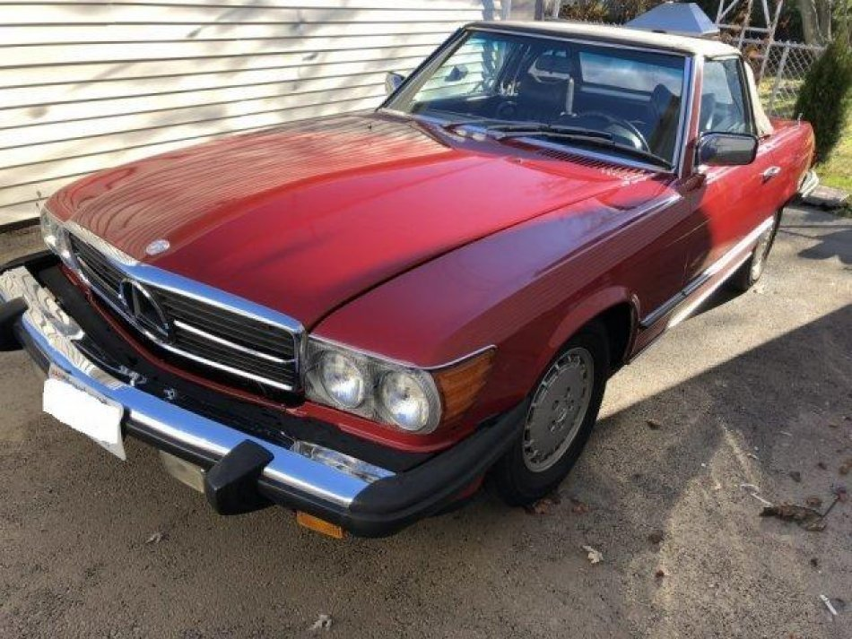 1978 Mercedes-Benz 450 SL Roadster for sale in Hanover, MA