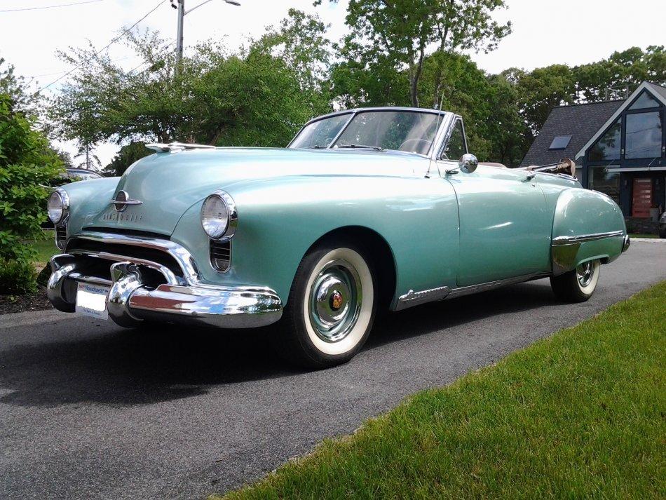 1949 Oldsmobile Futuramic 98 Convertible for sale in Hanover, MA