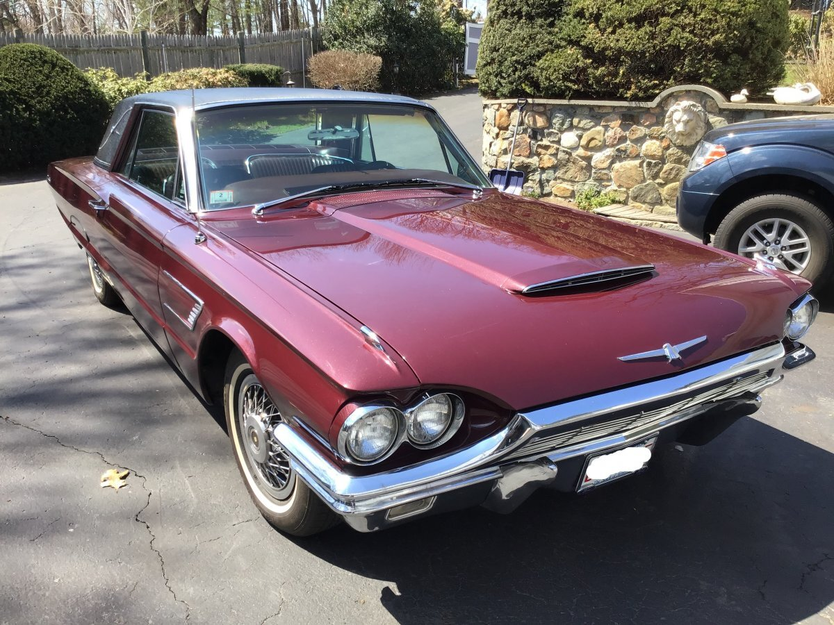1965 Ford Thunderbird for sale in Worcester, MA