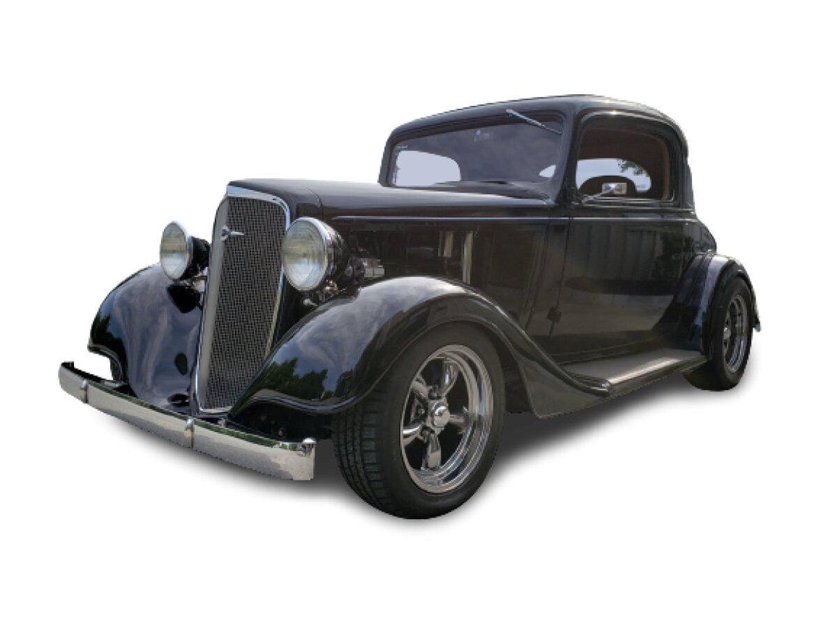 1934 Chevrolet 3-Window Coupe