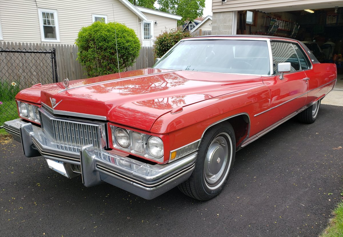 1973 Cadillac Coupe DeVille for sale in Lake Hiawatha, NJ