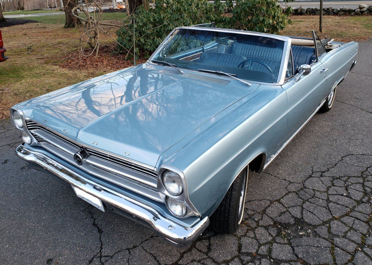 1966 Ford Fairlane 500 Convertible Coupe for sale in Hanover, MA
