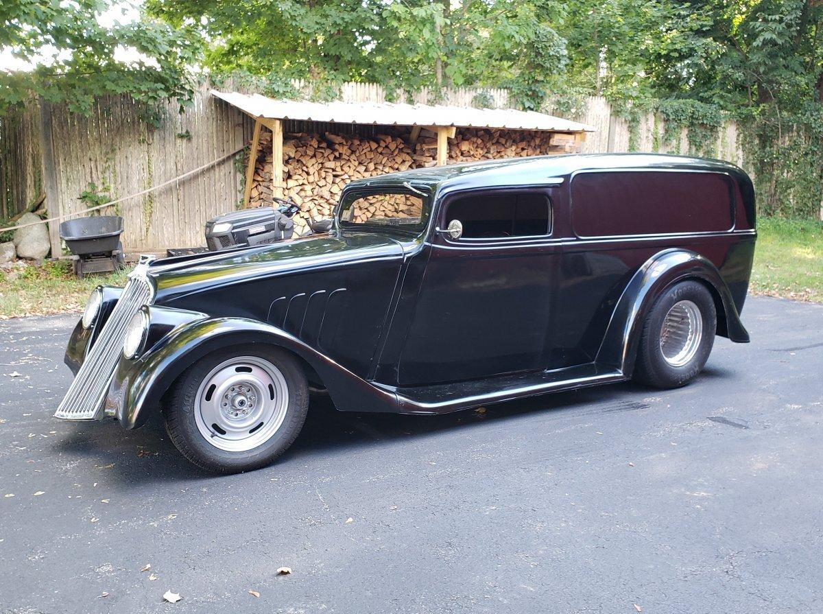 1933 Willys Sedan Delivery Custom