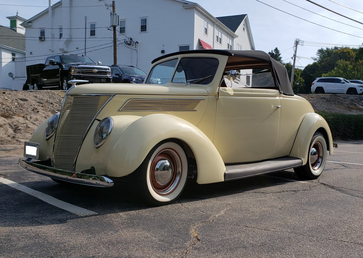 1937 Ford Roadster Model 85 Convertible for sale in Hanover, MA