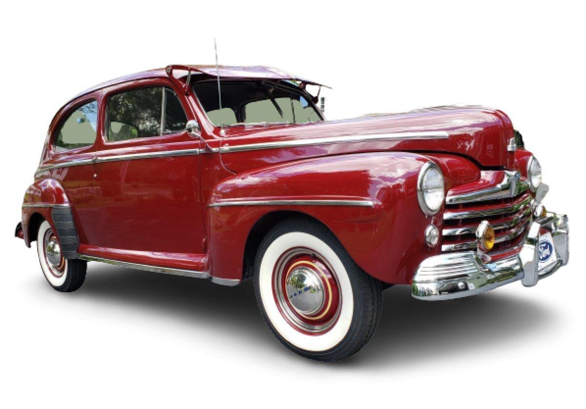 1948 Ford Super Deluxe Tudor Sedan