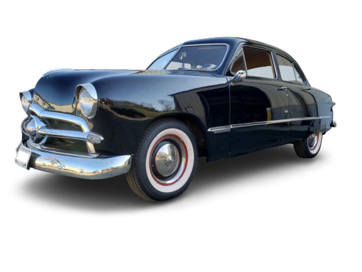1949 Ford Custom 2 Door Sedan for sale in Hanover, MA