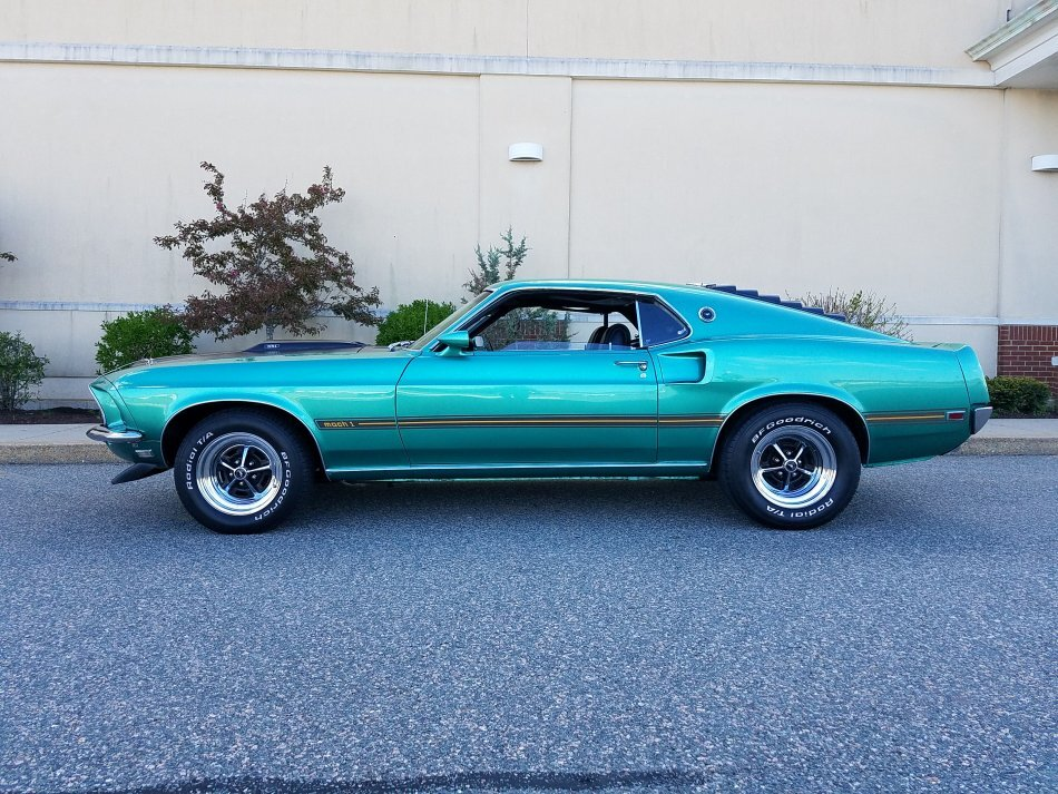 1969 Ford Mustang Mach I for sale in Hanover, MA