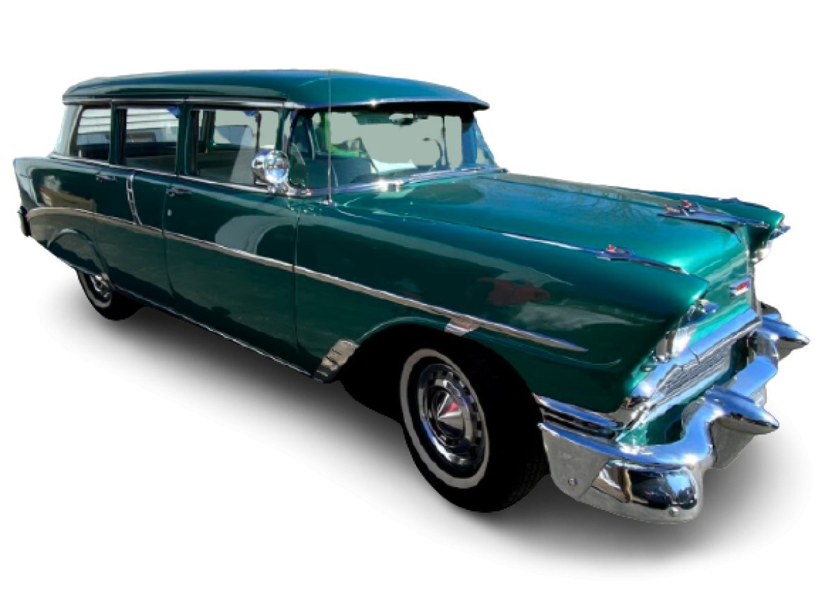 1956 Chevrolet 210 Townsman 4 Door Wagon for sale in Hanover, MA