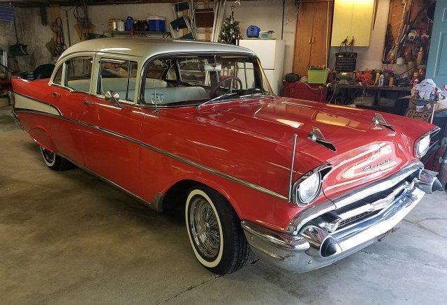 1957 Chevrolet BEL AIR 4 Door Sedan for sale in Hanover, MA