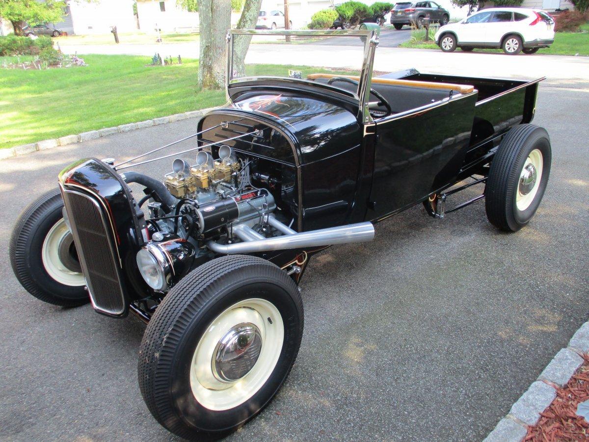 1929 Ford Model A Pickup Custom Roadster for sale in Lake Hiawatha, NJ