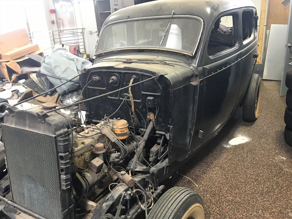 1936 Dodge Brothers Sedan Project Car