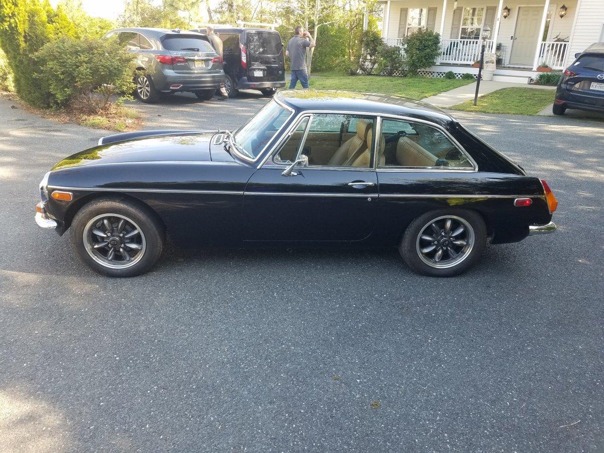 1972 MG MGB GT