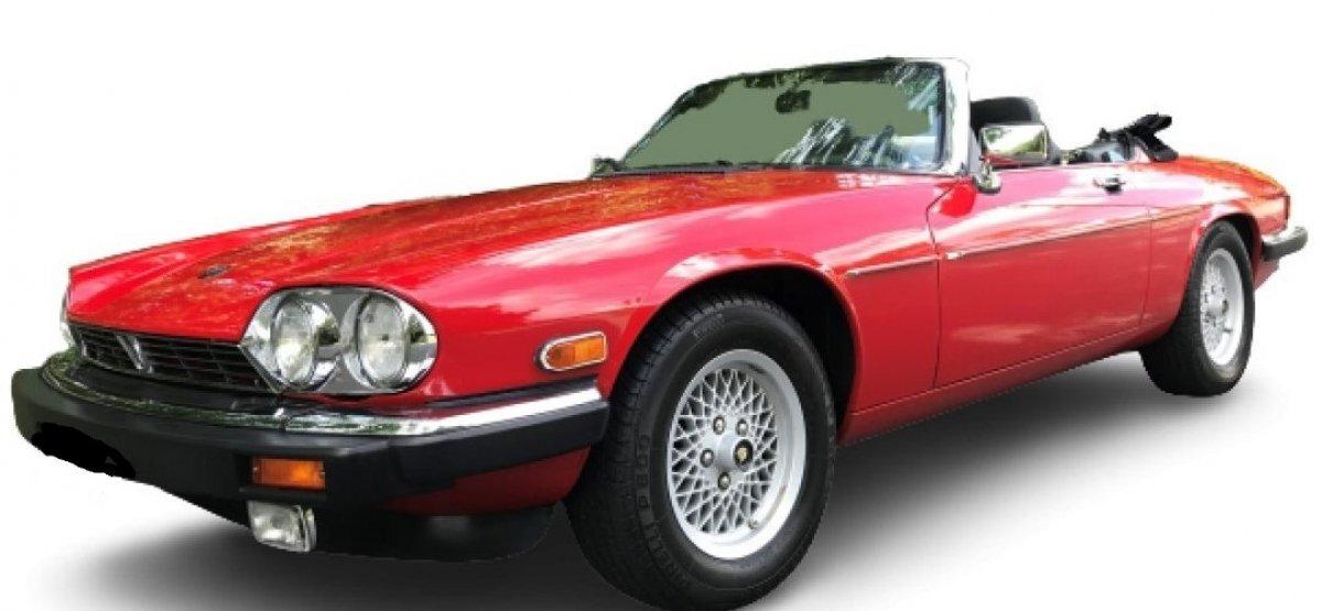 1990 Jaguar XJ12 Convertible