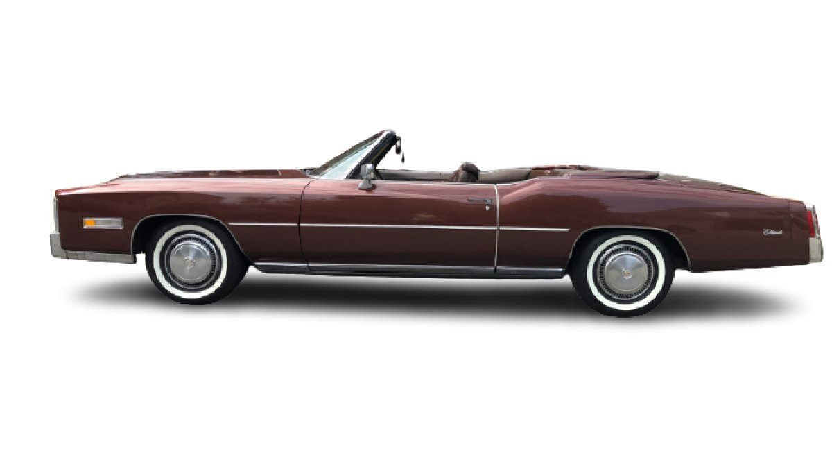 1975 Cadillac Eldorado Convertible for sale in Lake Hiawatha, NJ