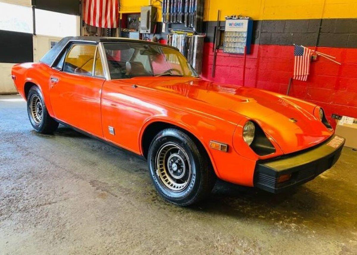 1974 Jenson Healy Roadster