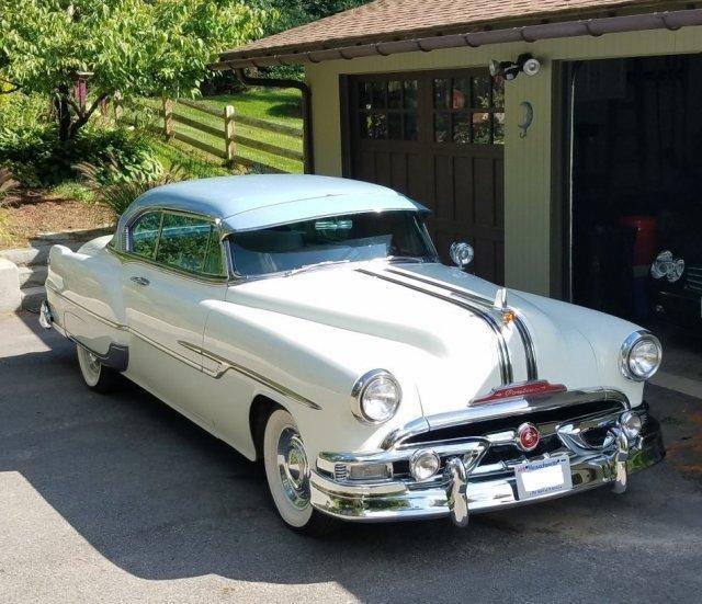 1953 Pontiac Chieftain 8 Custom Catalina for sale in Hanover, MA