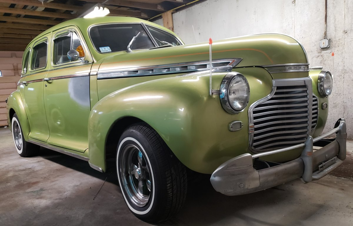 1941 Chevrolet 4 Door Sedan Special Deluxe