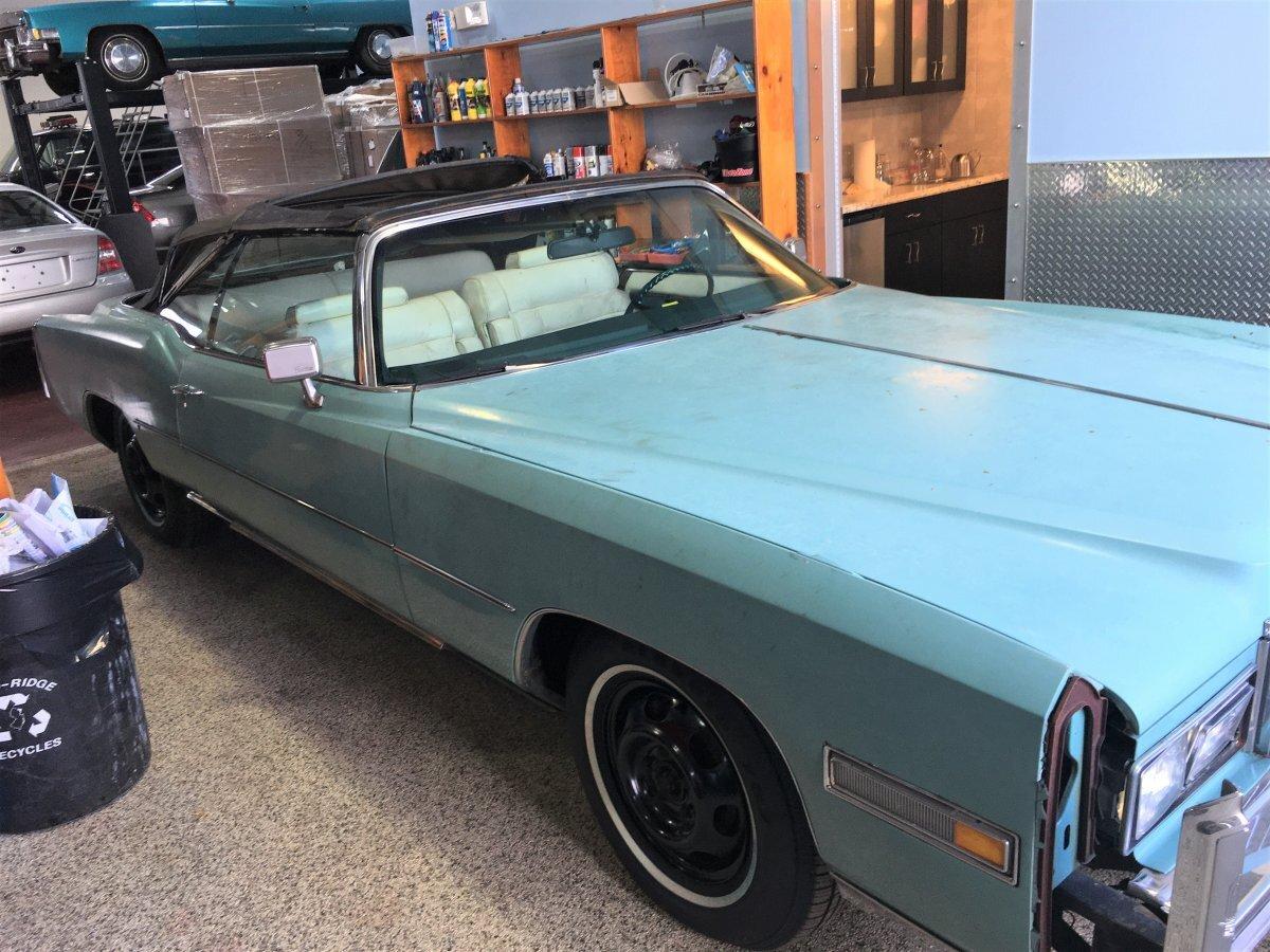 1976 Cadillac Eldorado Convertible Project Car
