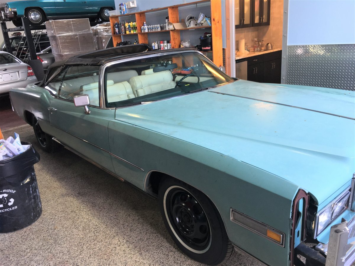 1976 Cadillac Eldorado Convertible Project Car