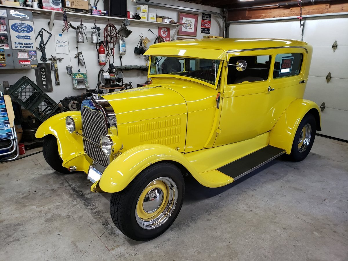 1929 Ford Tudor Sedan Custom Hot Rod
