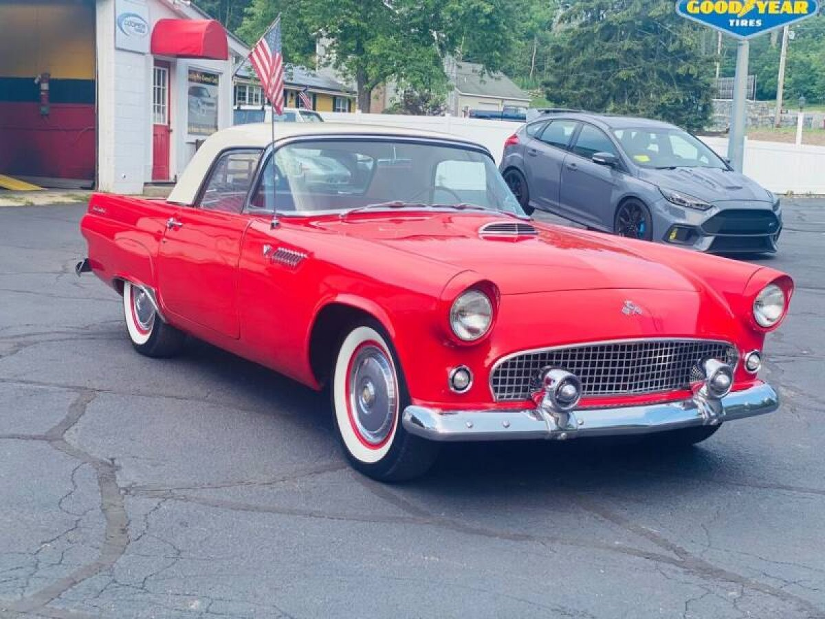 1955 Ford Thunderbird Coupe for sale in Hanover, MA