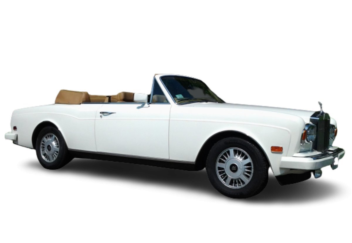 1987 Rolls Royce Corniche II Convertible