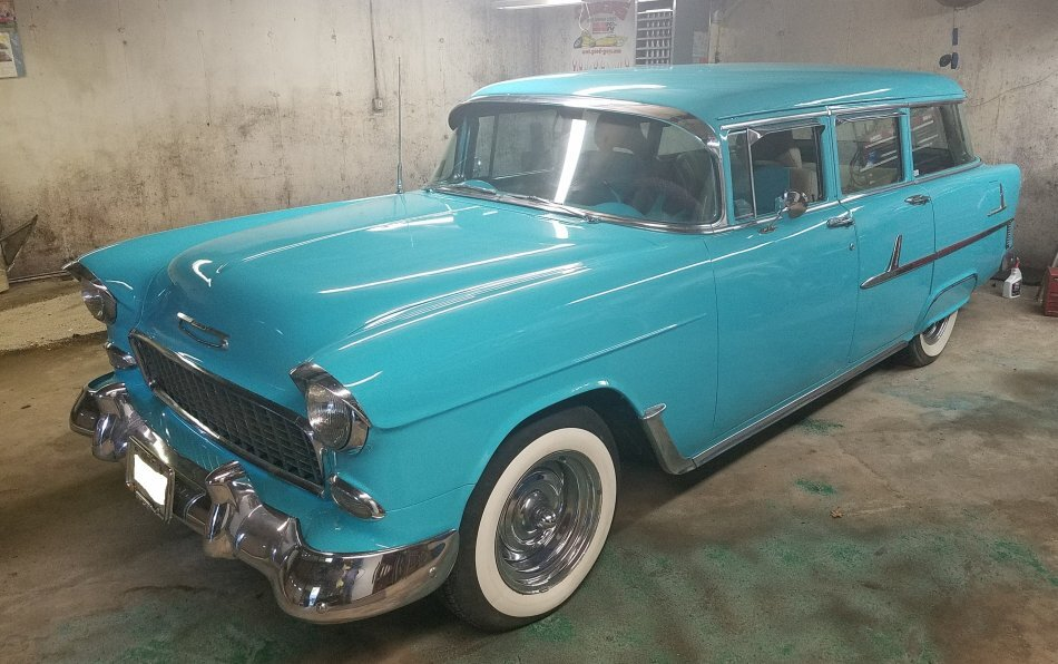 1955 Chevrolet 210 4 Door Wagon Townsman